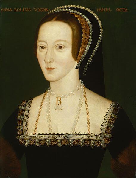 Anna Boleynová choker