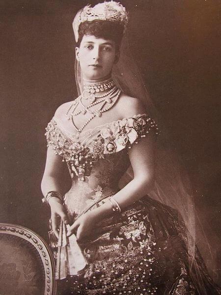 Princezná Alexandra choker